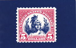 United States Postal Stamp Issue America The Head Of Freedom - Stamps (pictures)
