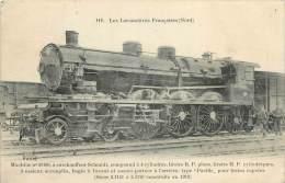 Réf : VP 2-13-286  : Machine N° 31166 Chemin De Fer Locomotive Fleury - Trains