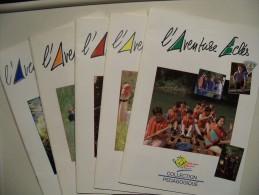 Scoutisme /LOT 6 Documents De  Eclaireurs De France / Guides De France / Scouts De France / Papiers - Scoutisme
