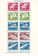 Stamps Of Sweden 1972 Booklet Issue The Swedish Post Office - Stamps (pictures)