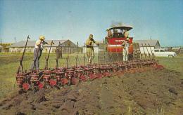 Canada Reeves Steamer Pulling 20 Bottom Plow Western Development