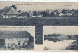 CPA 68 - Gruss Aus  Gottesthal (restauration Faivre, Brûcke...3 Vues) - Autres Communes