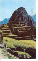 7-sudam6 Postal Perú. Vista Parcial De Machu Pichu - Perú