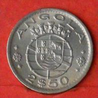 ANGOLA  2,5  ESCUDOS  1974   KM# 77  -    (Nº03622) - Angola