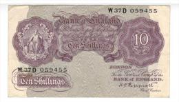England 10 Shillings, VF+, PEPPIATT. - …-1952 : Before Elizabeth II