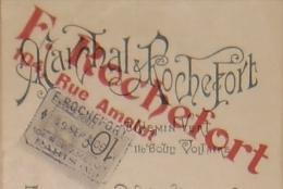 PARIS Imprimerie D´Art  F. ROCHEFORT Effet De Commerce 1906 - Drukkerij & Papieren