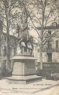 NANCY  - 54 - La Statue De Jeanne D'Arc Sur La Place Lafayette - 081113 - - Nancy