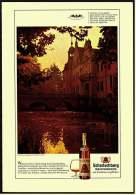 Reklame Werbeanzeige  -  Scharlachberg Meisterbrand  -  Schloß Frens In Quadrath-Ichendorf Bei Köln - Alkohol