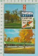 Montréal  Quebec Canada ( 2-Views, Otter Lake Park Motel- Camping,   ) Carte Postale Post Card - Quebec