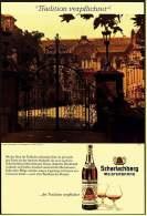Reklame Werbeanzeige  -  Scharlachberg Meisterbrand  -  Schloß Schillingsfürst Bei Ansbach - Alkohol