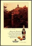 Reklame Werbeanzeige  -  Scharlachberg Meisterbrand  -  Schloß Kriegshoven Bei Heimerxheim  -  Von 1971 - Alkohol