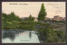 BE402) Boitsfort - Vue De L´Étang - Mailed 1910 - Watermael-Boitsfort - Watermaal-Bosvoorde