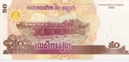 CAMBODGE - 50 Riels 2002 - UNC - Cambodia