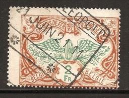 FEC-1555   BOURG LEOPOLD       Ocb TR 43 - 1895-1913