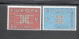 CEPT Ornament  Belgien 1320 - 21 ** Postfrisch - Europa-CEPT