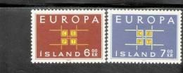 CEPT Ornament Island 373 374 MNH ** Postfrisch - Europa-CEPT