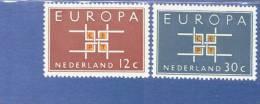 CEPT Ornament Niederlande 806 - 807 ** Postfrisch - Europa-CEPT
