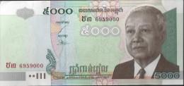 CAMBODGE - 5000 Riels 2002 - UNC - Cambodia