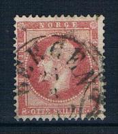 Norwegen 1856 Mi.Nr. 5 Gestempelt - Gebraucht