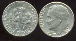 UNITED STATES - USA - 10 Cents  Dimes  1979 D - Émissions Fédérales