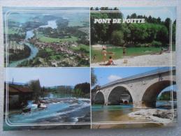 CP 39 PONT DE POITTE  - Vers Clairvaux Les Lacs  - Multivue - Image De Franche Comté - Clairvaux Les Lacs
