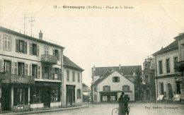 CPA GIROMAGNY PLACE DE LA MAIRIE - Giromagny