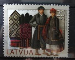 2005 Latvia/Letland Costumes Used/gebruikt/oblitere - Lettonie