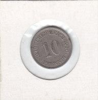 10 PFENNIG Cupro-nickel 1906 F - 10 Pfennig