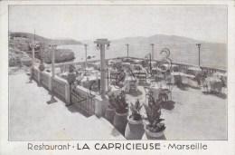 """13 Marseille La Corniche Restaurant \""""La Capricieuse\"""" - Endoume, Roucas, Corniche, Plages"""