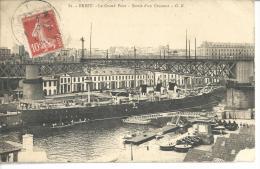 29 Brest - Le Grand Pont - Sortie D'un Croiseur - Beuzec-Cap-Sizun