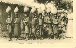 ~    ROUANDA   - KABGAYE  . Jeunes Filles Chrétiennes Allant à La Riviére    .   Bien Sympa Et Pas Chére  ~ - Ruanda- Urundi
