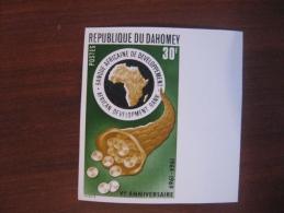 Dahomey 1969   MNH  389  Imperf - Benin – Dahomey (1960-...)