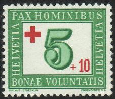 SUISSE 1945 1 TP Au Profit De La Croix-Rouge Y&T N° 418 Neuf * - Schweiz