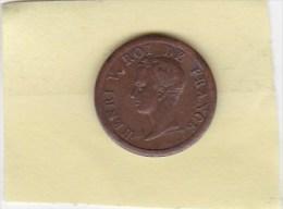 MONNAIE HENRI V 1833 - Non Classificati