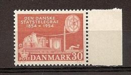 Dänemark 1954, Nr. 351, 100 Jahre Telegraphie  Postfrisch (mnh) Denmark - Unused Stamps