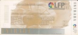 España--Futbol--F.C.Barcelona--R.C .R.Huelva--Jornada 10--1998 - Tickets - Entradas