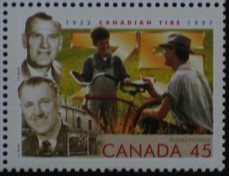 1997 CANADA  CANADIAN TIRE ** MNH Vélo Cycliste Cyclisme Bicycle Cyclist Cycling Fahrrad Radfahrer Radfahren Bici [AG44] - Cycling