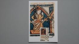 Spanien 2842 Ed 2961 Yt 2577, Maximumkarte MK/MC, 800 J. Parlaments Des Königreiches León - Maximum Cards