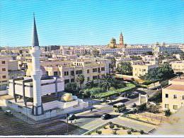 AK LIBYEN TRIPOLI GROSSE POSTCARD 1964 - Libye