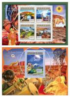 GUINEA 2011 - Solar Eclipse M/S + S/S Official Issue