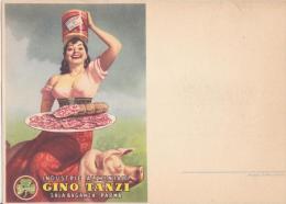 Industrie Alimentari Gino Tanzi.Illustratore Boccasile - Werbepostkarten