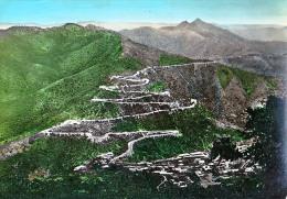 AK ERITREA Asmara-Massawa ROAD ,WINDIG UP FROM NEFASIT OLD POSTCARD - Eritrea