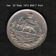 IRAN    20  RIALS  1957  (1351)  (KM # 1180) - Iran