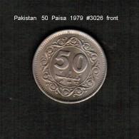 PAKISTAN   50  PAISA  1979  (KM # 38) - Pakistan