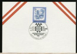 OSTERREICH  - Campionati Del Mondo '83 - TIRO CON PISTOLA  -  BERSAGLIO - Tiro (armi)