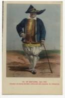 EN BRETAGNE- Vers 1840 - Paludier Du Bourg De Batz En  Costume Du Dimanche. - Batz-sur-Mer (Bourg De B.)