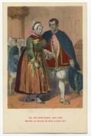 EN BRETAGNE- Vers 1840 -  Mariés Du Bourg De Batz. - Batz-sur-Mer (Bourg De B.)