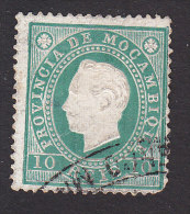 Mozambique, Scott #16, Used, Portuguese Crown, Issued 1886 - Mozambique