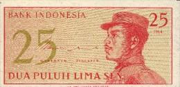 INDONESIE - 25 Sen 1964 - Indonésie