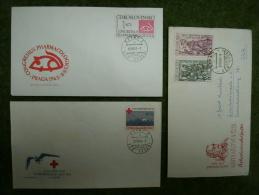 A2394) Czechoslovakia CSSR 3 Briefe / FDC Aus 1961 - 1964 - Briefe U. Dokumente
